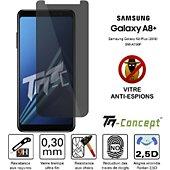 Protège écran Tm Concept Samsung Galaxy A8+ (2018) - Verre trempé