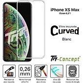 Protège écran Tm Concept Apple iPhone XS Max - Verre trempé 3D Cu