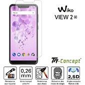 Protège écran Tm Concept Wiko View 2 Go - Verre trempé TM Concept
