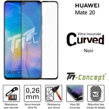 Tm Concept Huawei Mate 20 - Verre trempé 3D Curved