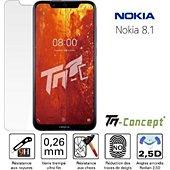 Protège écran Tm Concept Nokia 8.1 / Nokia 8 (2018) - Verre tremp