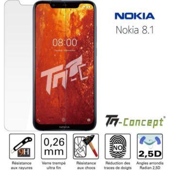 Tm Concept Nokia 8.1 / Nokia 8 (2018) - Verre tremp
