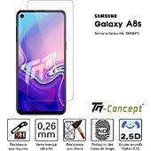 Protège écran Tm Concept Samsung Galaxy A8s - Verre trempé TM Con