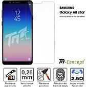 Protège écran Tm Concept Samsung Galaxy A8 Star - Verre trempé TM