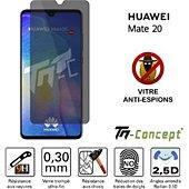 Protège écran Tm Concept Huawei Mate 20 - Verre trempé - Anti-Esp