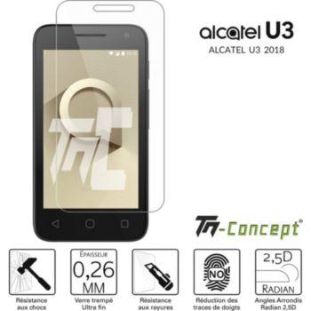 Tm Concept Verre trempé Alcatel U3 2018 TM Concept®