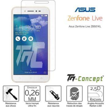 Tm Concept Asus Zenfone Live ZB501KL - Verre trempé