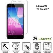 Protège écran Tm Concept Huawei Y6 Pro 2017 - Verre trempé TM Con