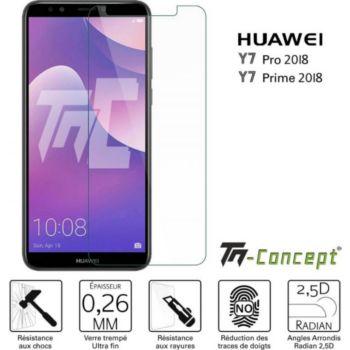Tm Concept Huawei Y7 Pro 2018 - Verre trempé TM Con
