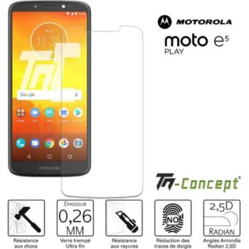 Tm Concept Motorola Moto E5 Play - Verre trempé TM