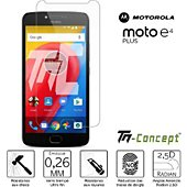 Protège écran Tm Concept Motorola Moto E4 Plus - Verre trempé TM