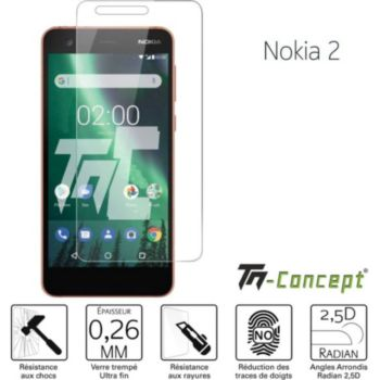 Tm Concept Verre trempé - Nokia 2 - TM Concept®