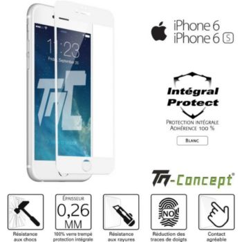 Tm Concept Apple iPhone 6 / 6S - Verre trempé intég