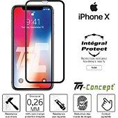 Protège écran Tm Concept Apple iPhone X - Verre trempé intégral P