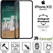 Protège écran Tm Concept Apple iPhone XS - Verre trempé intégral