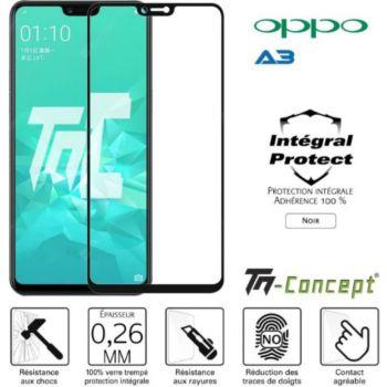 Tm Concept Oppo A3 - Verre trempé intégral Protect