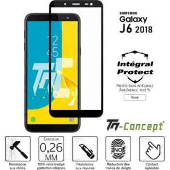 Tm Concept Verre trempé - Samsung J6 (2018) - Noir
