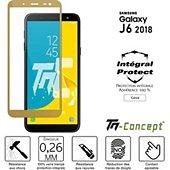 Protège écran Tm Concept Verre trempé - Samsung J6 (2018) - Gold