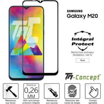 Tm Concept Samsung Galaxy M20 - Verre trempé intégr