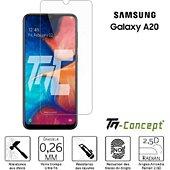 Protège écran Tm Concept Samsung Galaxy A20 - Verre trempé TM Con