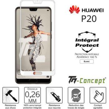 Tm Concept Huawei P20 - Verre trempé intégral Prote