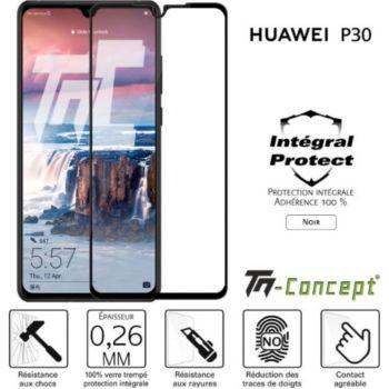 Tm Concept Huawei P30 - Verre trempé intégral Prote