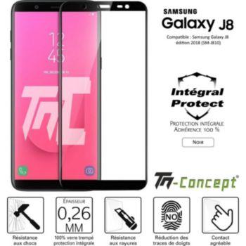 Tm Concept Verre trempé - Samsung J8 (2018) - Noir