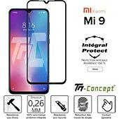 Protège écran Tm Concept Verre trempé intégral Xiaomi Mi 9 - Noir