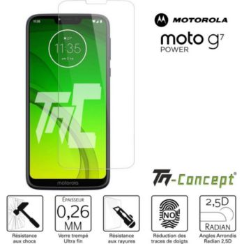 Tm Concept Motorola Moto G7 Power - Verre trempé TM