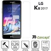 Protège écran Tm Concept Verre trempé - LG K8 (2017) - TM Concept