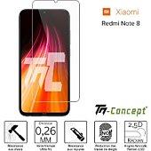 Protège écran Tm Concept Verre trempé - Xiaomi Redmi Note 8