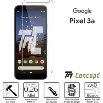 Tm Concept Verre trempé pour Google Pixel 3A