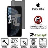 Protège écran Tm Concept Verre trempé teinté Apple iPhone 11 Pro
