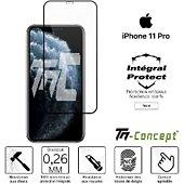 Protège écran Tm Concept Verre trempé intégral iPhone 11 Pro Noir