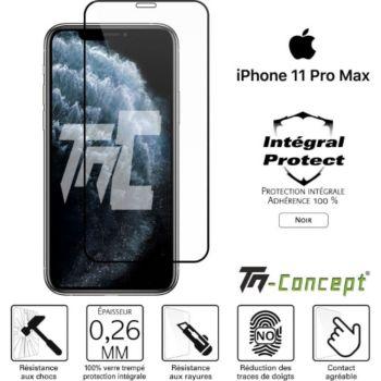 Tm Concept Verre trempé intégral iPhone 11 Pro Max