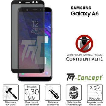 Tm Concept Verre trempé teinté - Samsung A6 (2018)