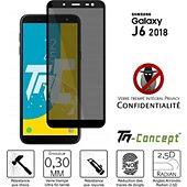 Protège écran Tm Concept Verre trempé teinté - Samsung J6 (2018)