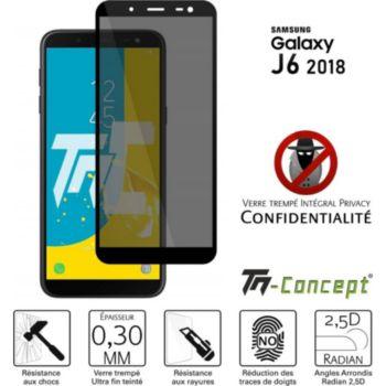 Tm Concept Verre trempé teinté - Samsung J6 (2018)
