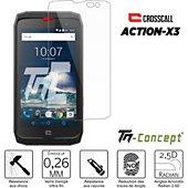 Protège écran Tm Concept Verre trempé pour Crosscall Action X3