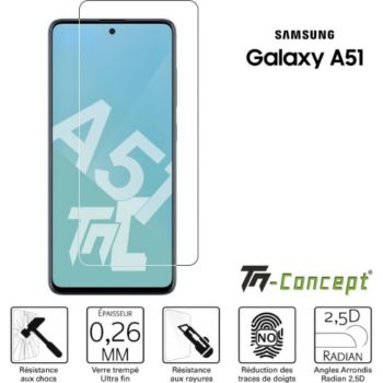 Tm Concept Verre trempé pour Samsung Galaxy A51