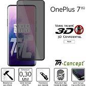Protège écran Tm Concept Verre trempé 3D teinté - OnePlus 7 Pro