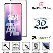Protège écran Tm Concept Verre trempé 3D - OnePlus 7T Pro - Noir