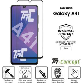 Tm Concept Verre trempé - Samsung Galaxy A41 - Noir