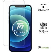 Protège écran Tm Concept Verre trempé 0,15mm pour Apple iPhone 12