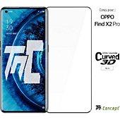 Protège écran Tm Concept Verre trempé 3D Oppo Find X2 Pro - Noir