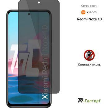 Tm Concept Verre trempé teinté Xiaomi Redmi Note 10