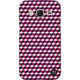 Coque So Seven  iPhone 6/7/8/SE 2020 Retro Cubic rouge