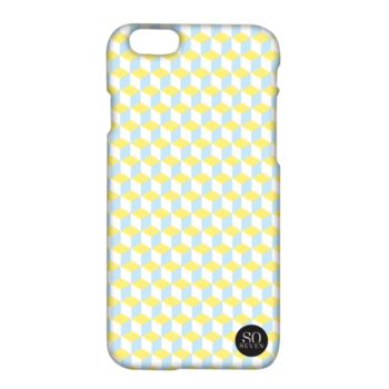 So Seven iPhone 6/6S Retro Cubic vert jaune