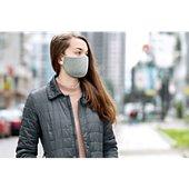Mobilis 6 Masques lavables et réutilisables gris