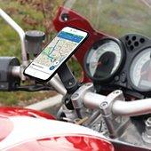 Support smartphone Mobilis pour Moto Universel Rotation 360° Noir